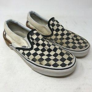 Vans Slip On Checkerboard Shoes